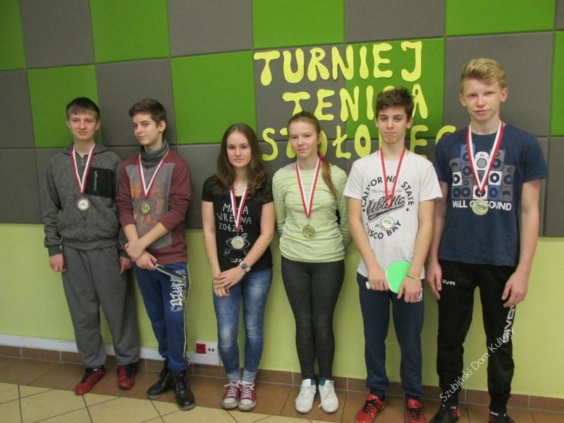 III Turniej Tenisa Stołowego w świetlicy w Turze