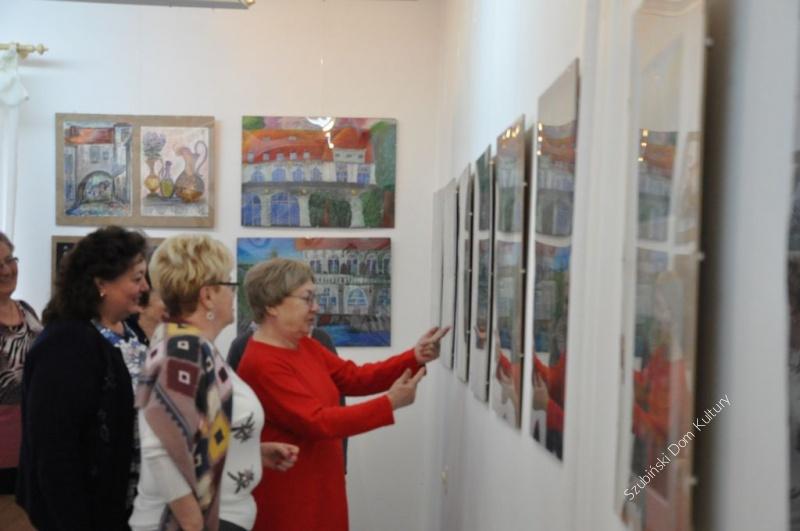 Seniorzy zwiedzali wystawę