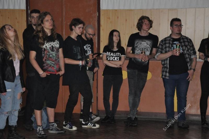 Koncert Metalowy w SzDK