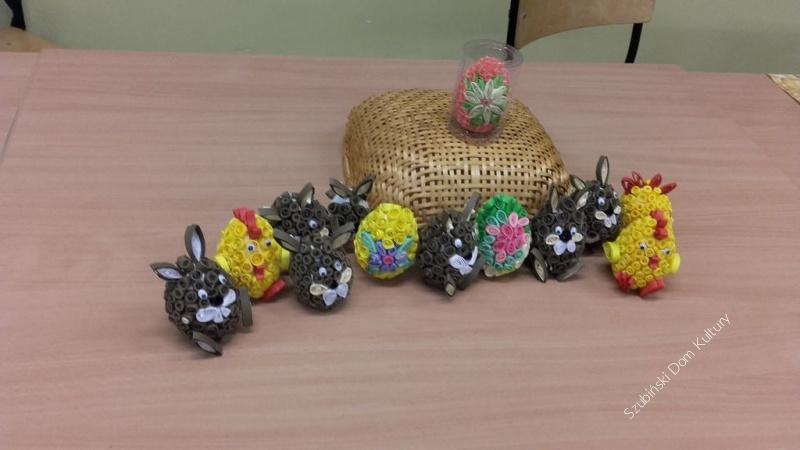 Wielkanocne ozdoby w Turze