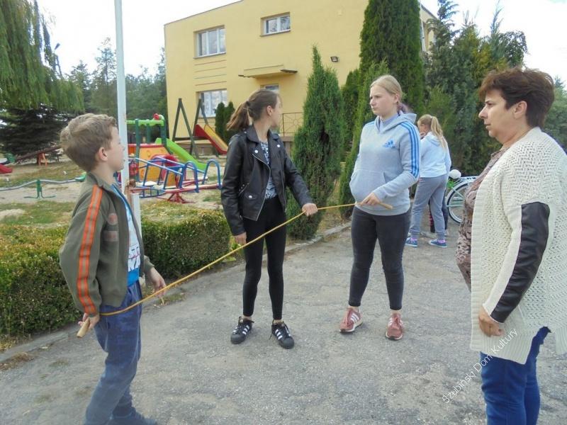 Wakacyjne spotkania w Chomętowie