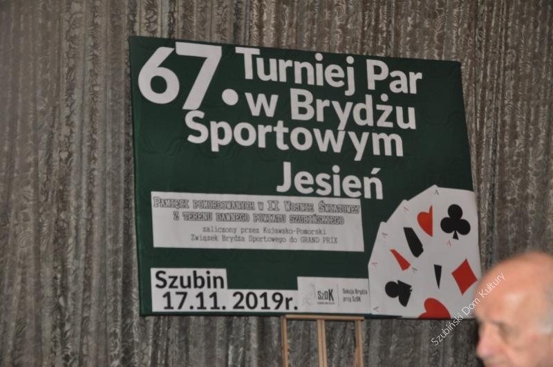67 Turniej Brydża