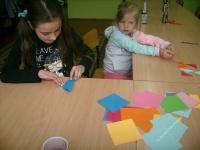 Zabawy z origami w Chomętowie