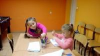 Zajęcia dla dzieci w świetlicy w Chraplewie