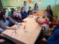 Balonowe eksperymenty w świetlicy w Kołaczkowie