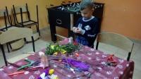 Przygotowania do świąt w świetlicy w Chraplewie