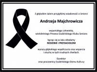 Składamy kondolencje