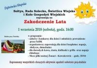 Zakończenie lata w Dąbrówce Słupskiej
