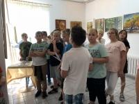 Lekcje sztuki w Galerii